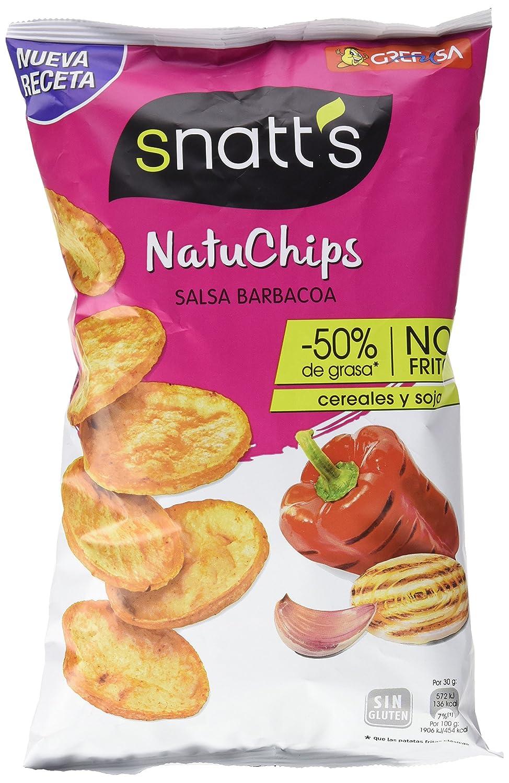 Snatts Grefusa - Natuchips Barbacoa 85 g: Amazon.es: Alimentación y bebidas