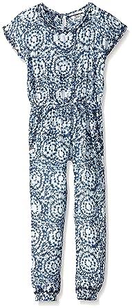 5c918ea5b0e Pepe Jeans Diane - Combinaison - Imprimé - Fille - Bleu (Blue) - FR ...