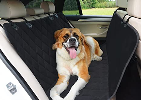 Backseat Dog Hammock >> Barney S Dog World Dog Hammock Car Seat Cover For Cars Suvs And Trucks Waterproof Highly Protective Nonslip Pet Seat Cover With Seat Anchors Back