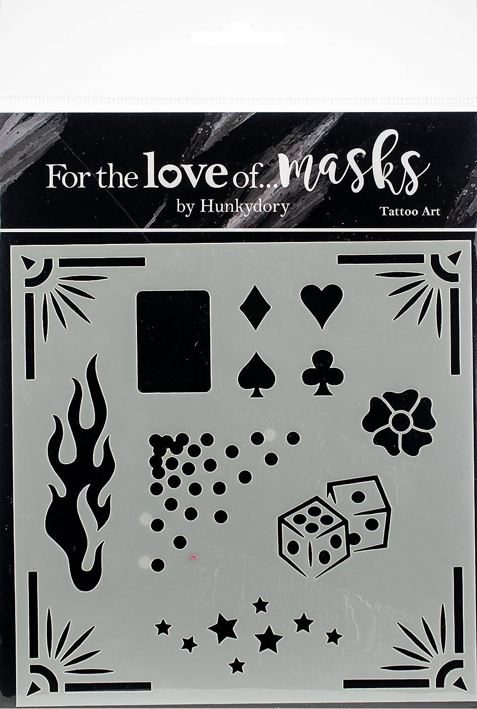 Hunkydory para el amor de máscaras - Tatoo arte: Amazon.es: Hogar