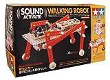 タミヤ 楽しい工作シリーズ No.166 音センサー歩行ロボット製作セット (70166)