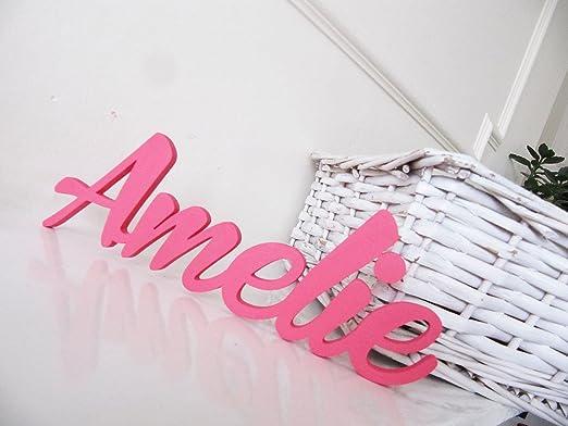 Amelie, Letreros personalizados para Niños o Niñas,Letreros,Decoracciónes para Dormitorios,Letreros para el Cuarto de los Niños,Mia Studio,Póngase en ...