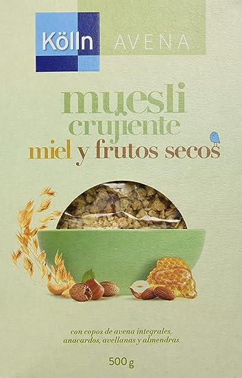 Kölln Mueslis de Avena con Miel y Frutos Secos - 500 gr