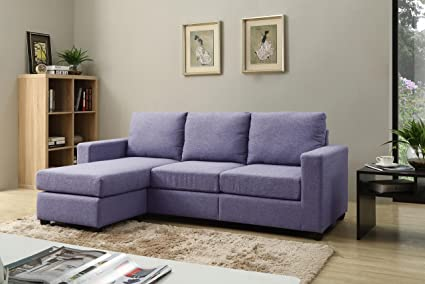 Wonderful NHI Express Alexandra Convertible Sectional Sofa, Blue