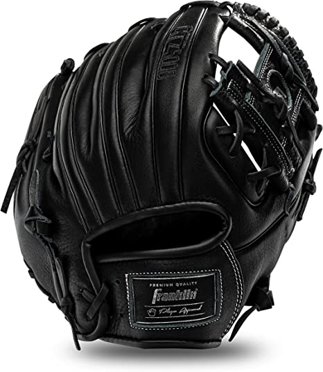 FRANKLIN YOUTH FIELD MASTER BASEBALL FIELDING GLOVE 9 1//2 LEATHER LACED