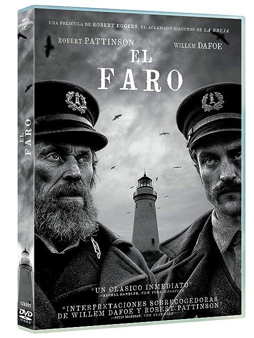 El Faro [DVD]: Amazon.es: Robert Pattinson, Willem Dafoe, Valeriia Karaman, Logan Hawkes, Robert Eggers, Robert Pattinson, Willem Dafoe, A24, New Regency Pictures: Cine y Series TV