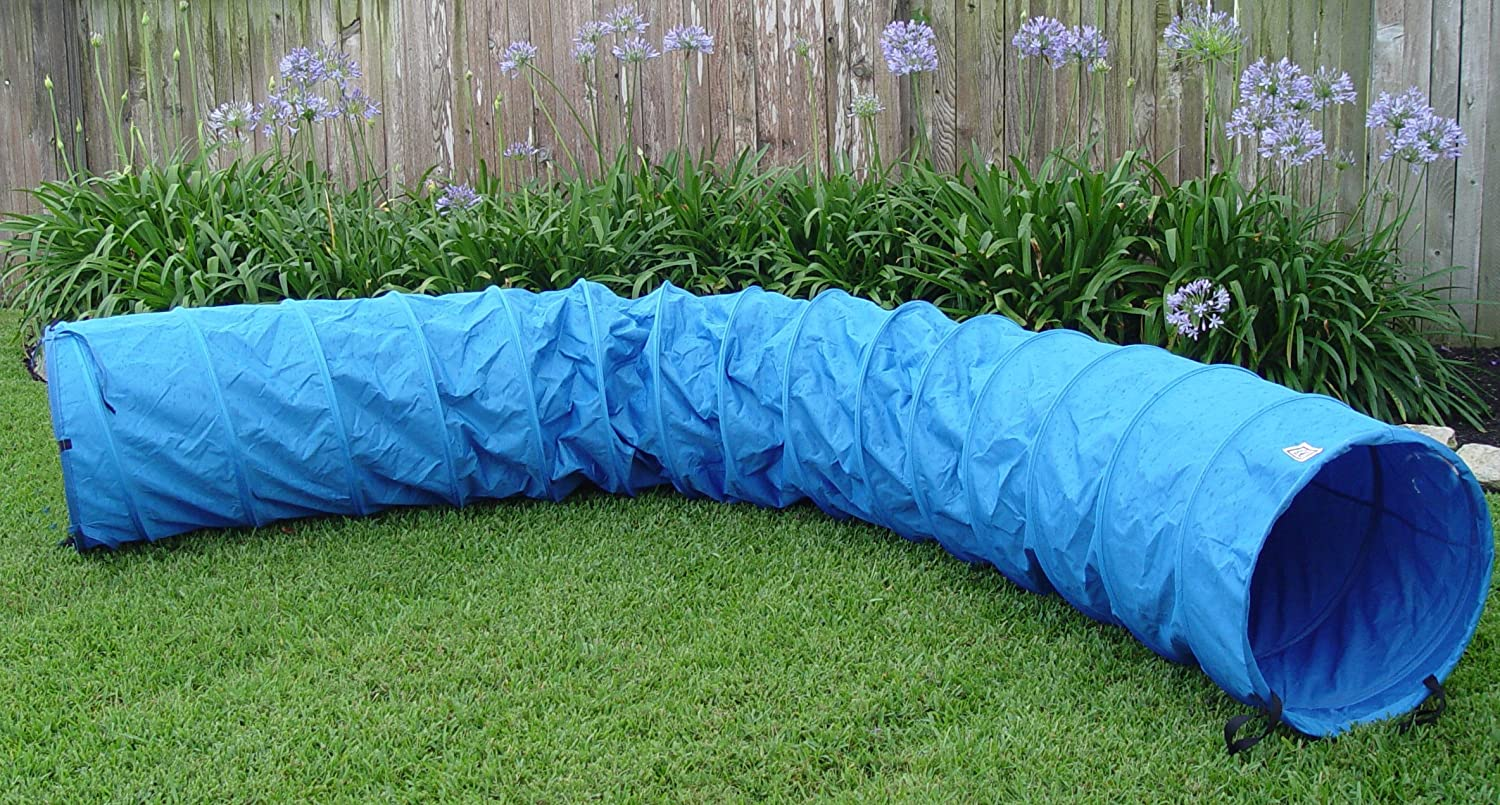 15' Dog Agility Open Tunnel Dog Agility Equipment by PPT