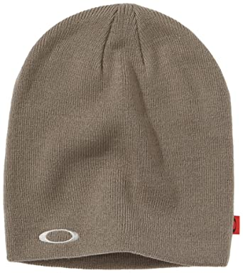 727260d369d7e Oakley Mütze Fine Knit Beanie - Gorro de esquí, color gris oscuro, talla  talla única  Amazon.es  Deportes y aire libre