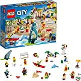 Lego City - Ensemble de Figurines City - La Plage - 60153 - Jeu de Construction