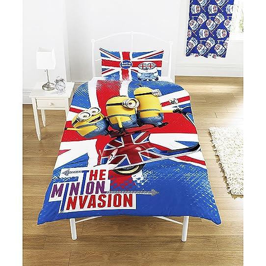 Despicable Me Invasion Minion housse de couette Union Jack Double ...