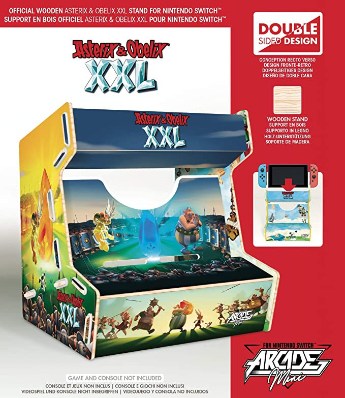 Meridiem Games - Asterix XXL Arcade Mini (Nintendo Switch): Amazon.es: Videojuegos