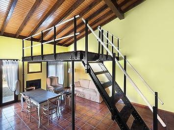 Svelt mezzanine métallique mezzanine pour garage bureau chambre