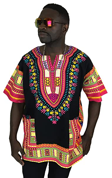 5b6eea7da Amazon.com  Dashiki Shirt African Top Clothing Kaftan …  Clothing