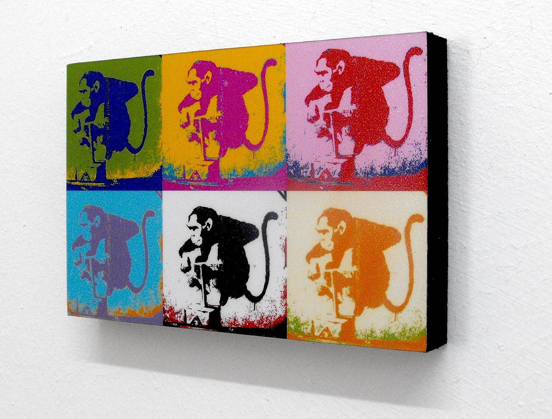 Banksy Popart Monkey 6
