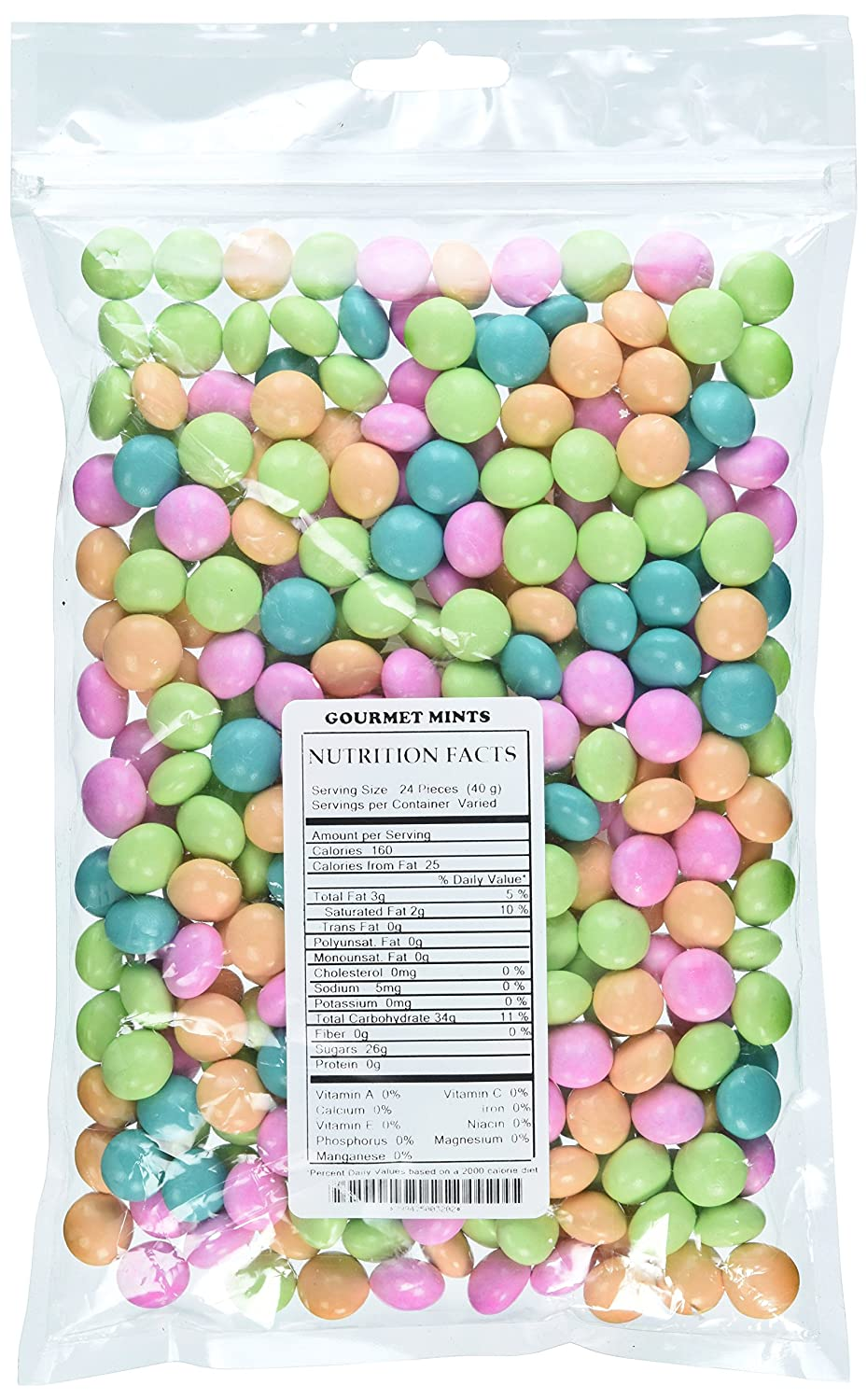 Sysco Gourmet Chocolate Mints Nutrition