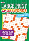 Large Print Crosswords Puzzle Book-Volume 123