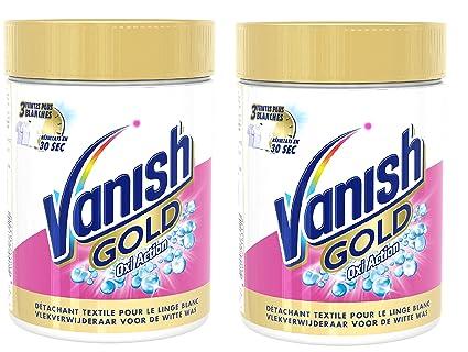 Vanish Oxi Action Crystal – Quitamanchas blanco Gold 470 g – Lote ...