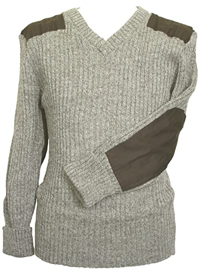 WOOLLY PULLY OUTDOOR,UNIFORM,SECURITY,MILITARY #09043 WOOL NATO // ARMY JUMPER