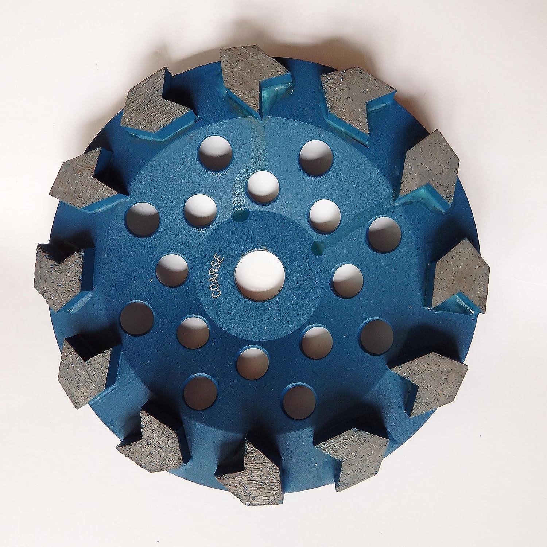 "7//8""-5//8"" Arbor 7"" Arrow Segment Diamond Grinding Cup Wheel for Concrete"