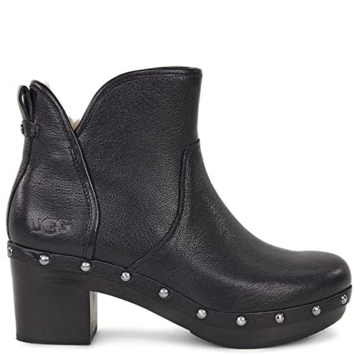 643f98a10a2 UGG Women's Cam II Bootie Black Leather Size 11 M: Amazon.ca: Shoes ...