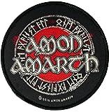 Amon Amarth Runes & Logo Aufnäher - Amon Amarth Patch - Gewebt & Lizenziert !!