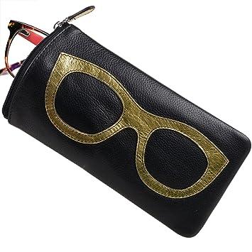 Señoras piel colorido gafas caso por ili nueva york ...