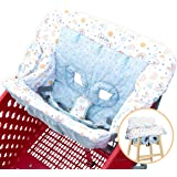 Bristin Baby Shopping Cart Cover. Cushy Baby Hammock for Shopping Cart and High Chair Cover. Shopping Cart Covers for…