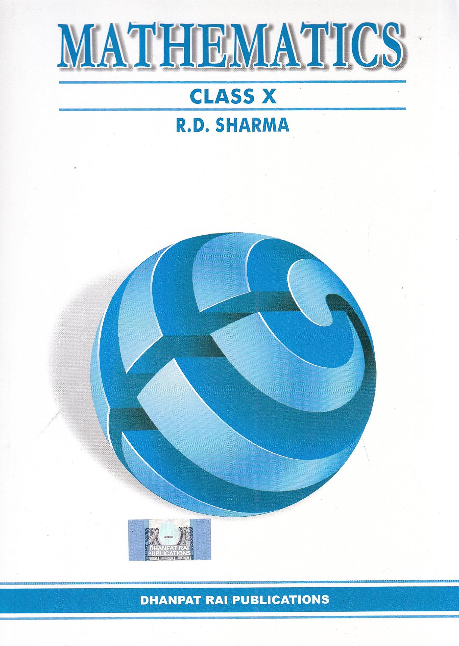 Rd Sharma Class 10 Solutions Pdf