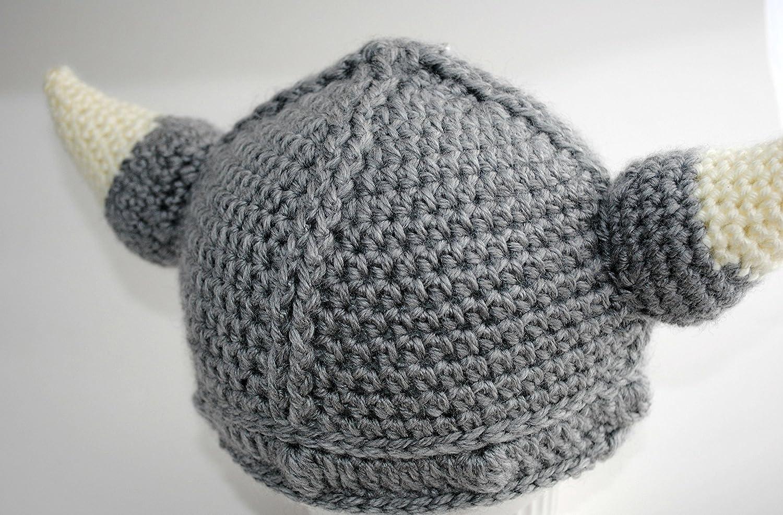 Amazon.com: Viking Hat, Crochet Viking Hat, Baby Viking Hat, Viking ...