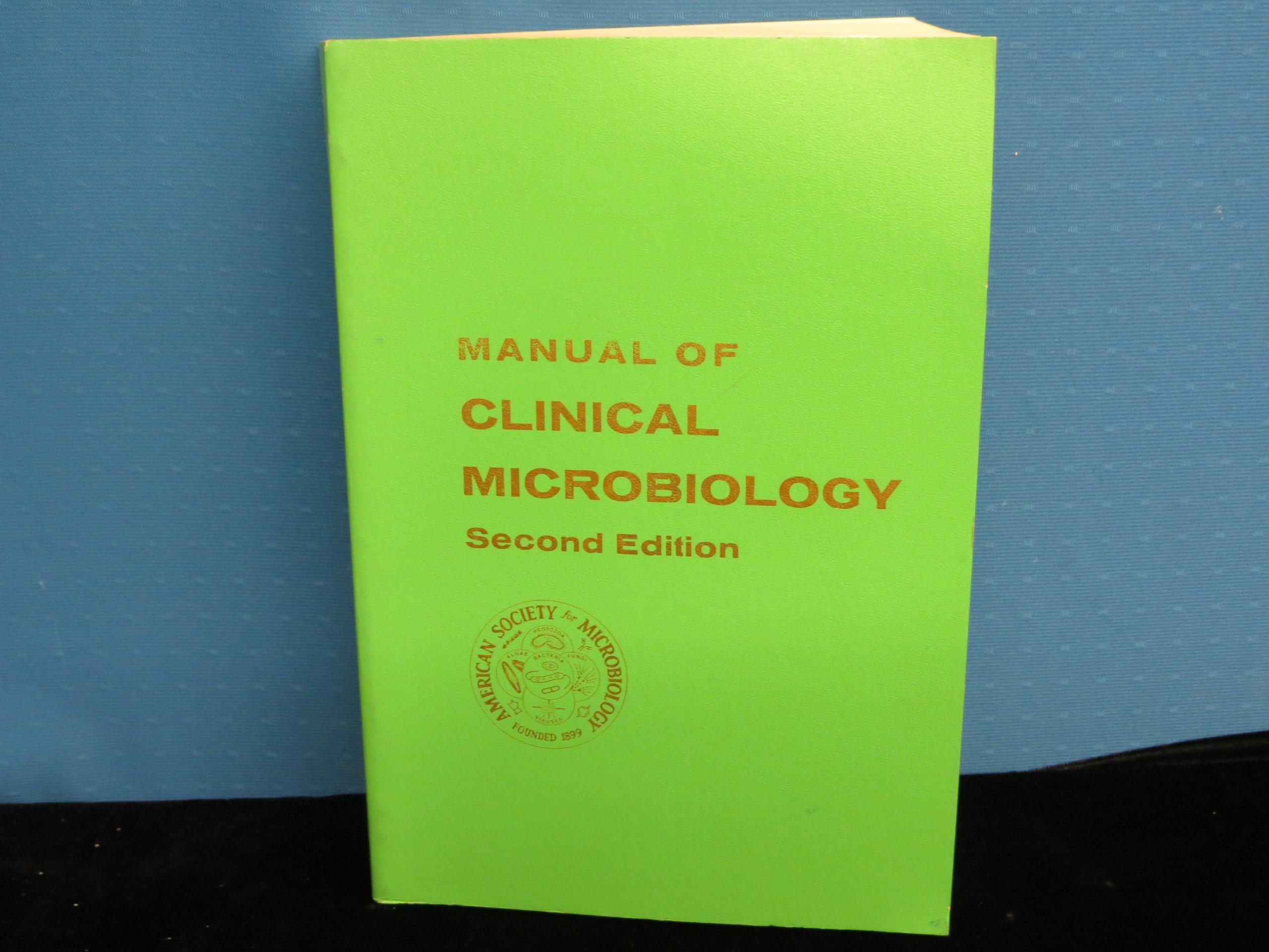 Manual of clinical microbiology: Edwin H., et al (Eds) Lennette:  9780914826019: Amazon.com: Books