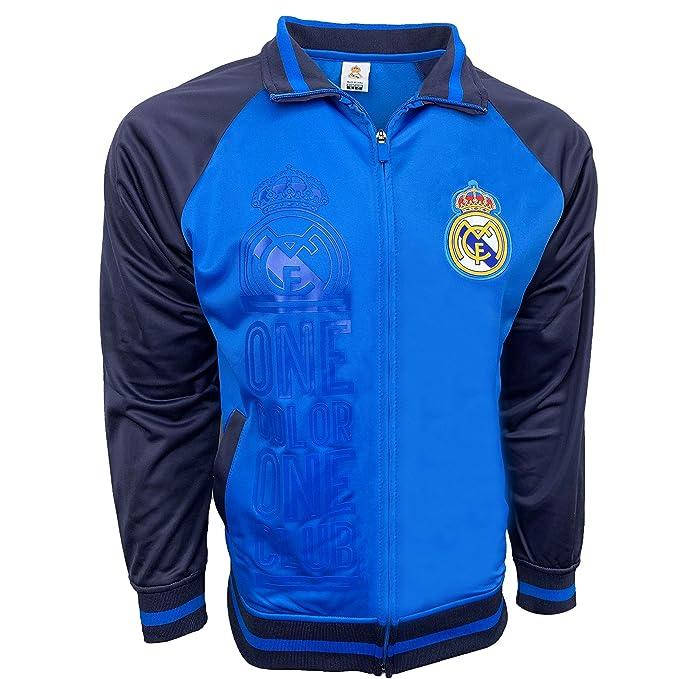 Amazon.com: Real Madrid chamarra 2017 Nueva. para niños y ...