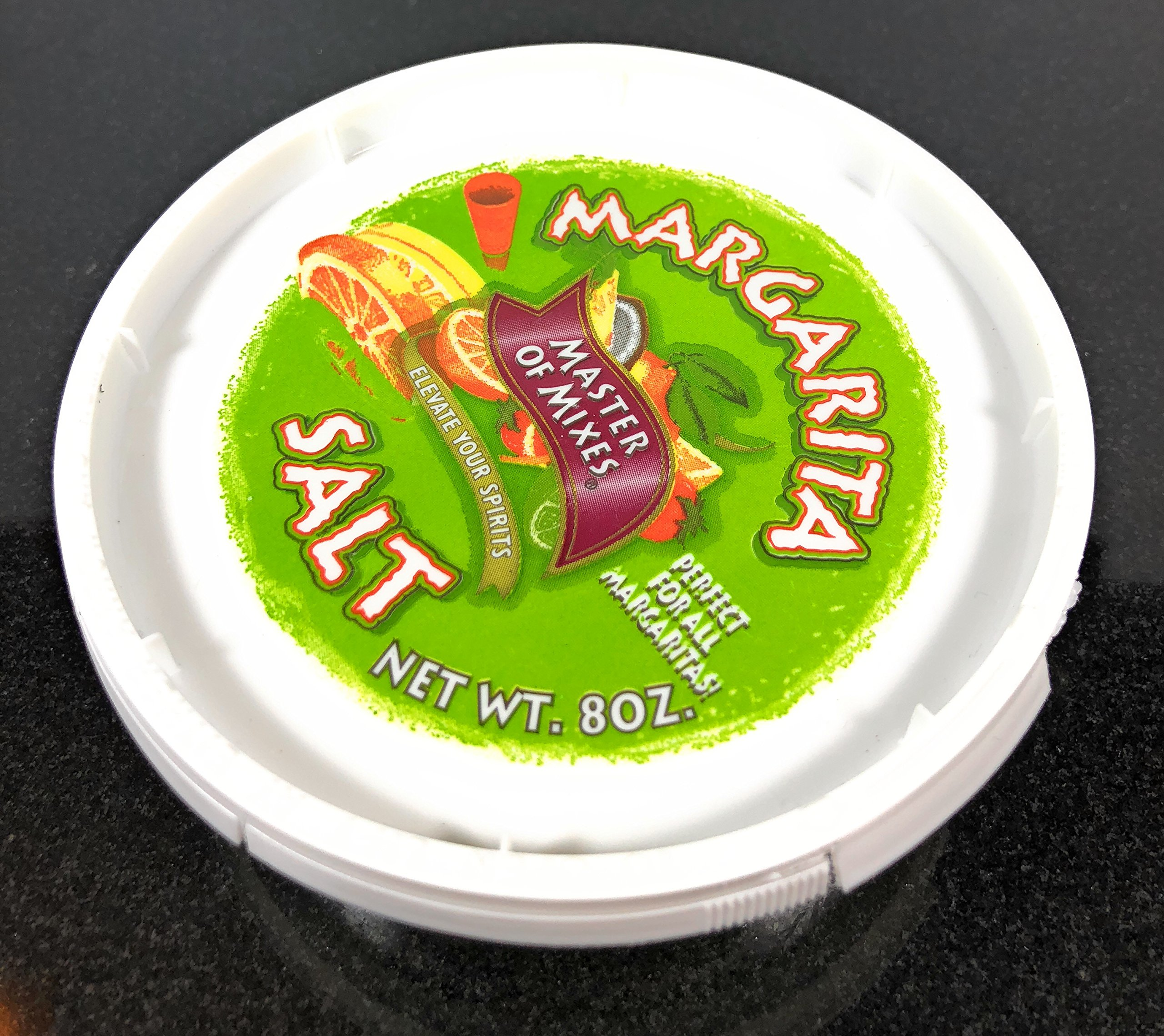 Margarita Salt Glass Rimmer BUNDLE - Bar Quality Rimmer, 8oz Margarita Salt Container, 3 Replacement Sponges | Perfect for Margaritas & Cocktails | 3-Tier Rotating Trays Salt Sugar Lime Juice SUMMIT by SUMMIT Salt Rimmer Bundle (Image #4)