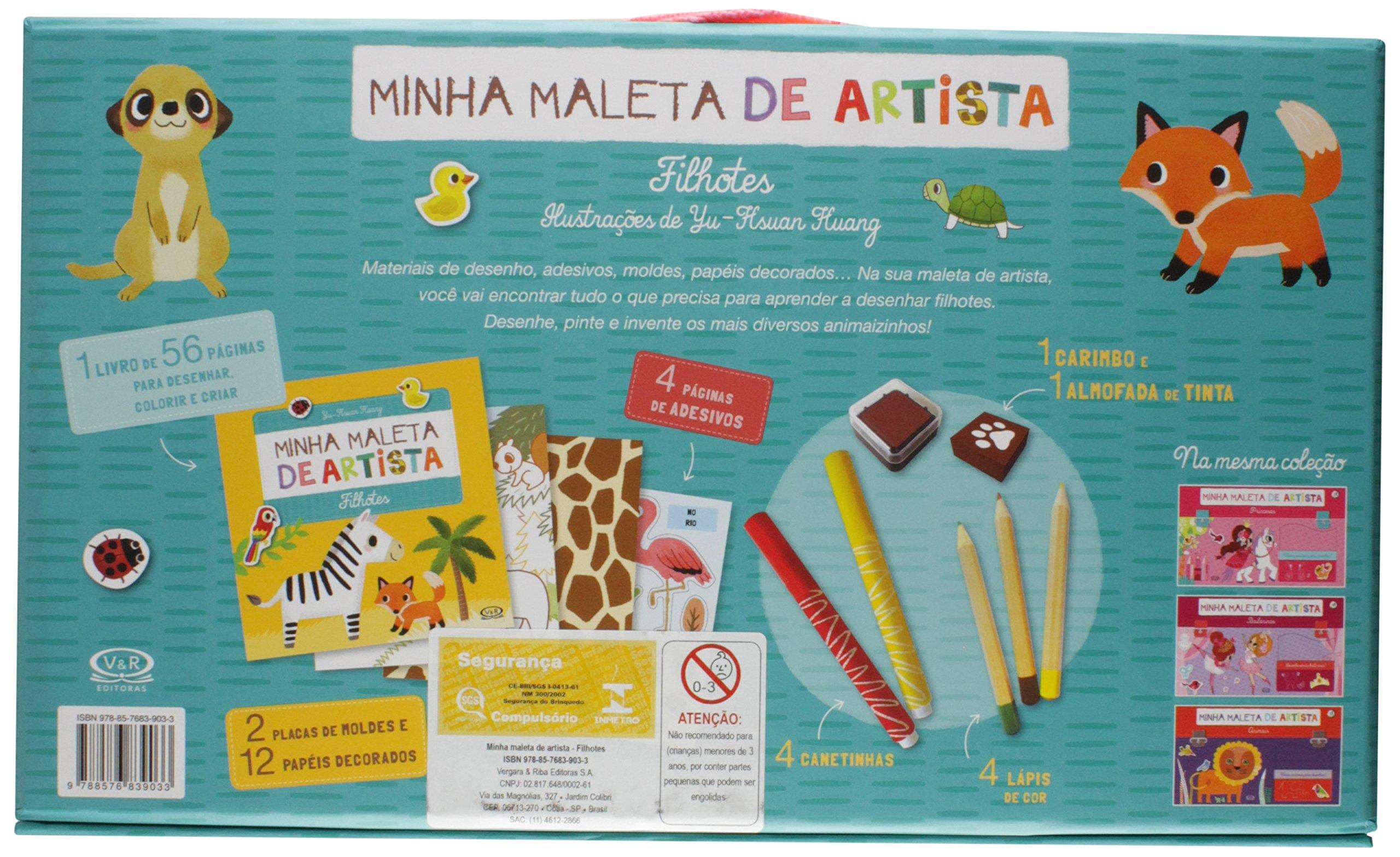 Minha Maleta de Artista. Filhotes (Em Portuguese do Brasil): Yu-Hsuan Huang: 9788576839033: Amazon.com: Books