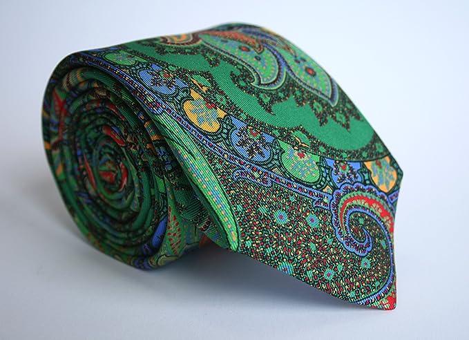 Alvaro Moreno, Corbata Estampada, color Verde: Amazon.es: Ropa y accesorios