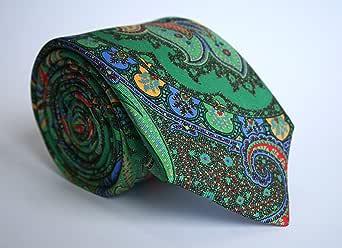Alvaro Moreno, Corbata Estampada, color Verde: Amazon.es: Ropa y ...