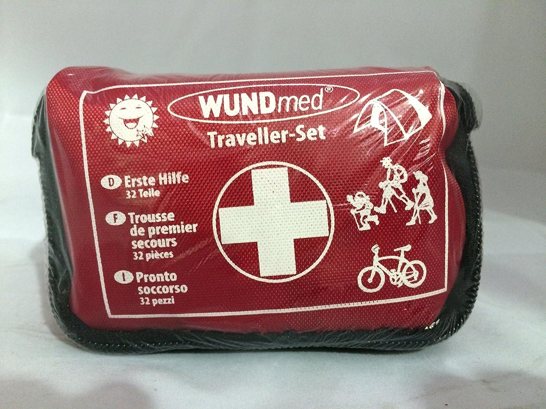 Wundmed Kit de voyage Premiers soins 32 piè ces Wund med GmbH 1001