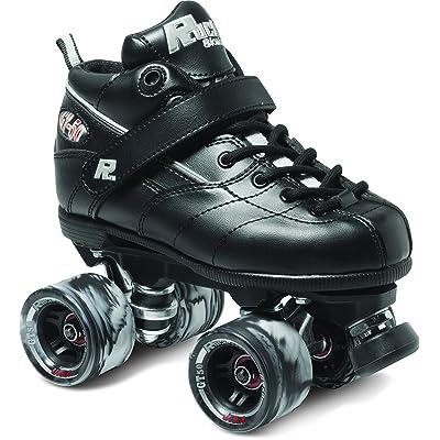 Sure-Grip Rock GT-50 Black Roller Skates : Sports & Outdoors
