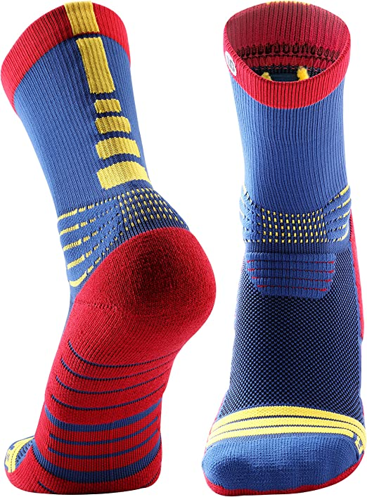 1Pair Protective Cushion Basketball Compression Athletic Socks for Men Women NEW