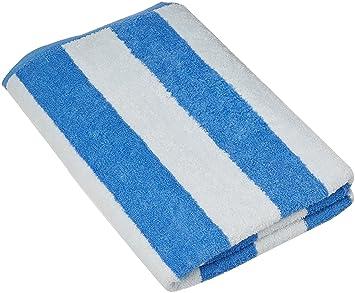beach towel. Large Beach Towel  Pool in Cabana Stripe Blue 4 pack Amazon com