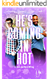 He's Coming in Hot: A Jock and Nerd Mpreg (Salacious Summer Singe Book 6)