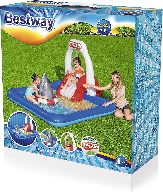 234 x 203 x 129 cm Bestway Wasserspielcenter Rettungsschwimmer