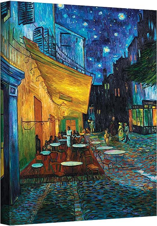 Amazon Com Artwall Terraza De Café Por La Noche De Vincent