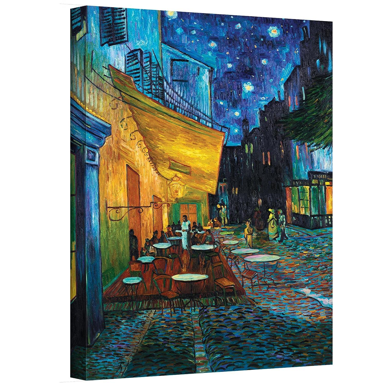 Unique Amazon.com: ArtWall Cafe Terrace at Night by Vincent Van Gogh  QP65