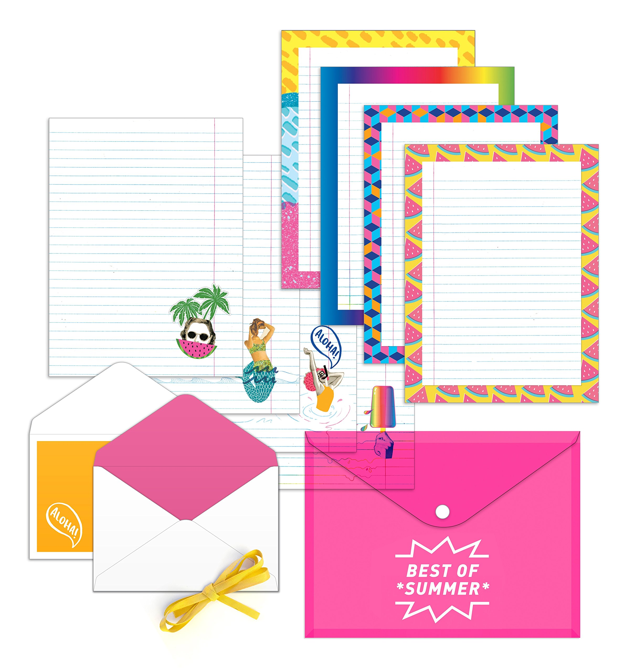 stationery paper 48 pack floral themed printed paper with