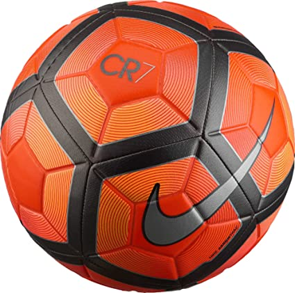 7b6b007b2b1e Amazon.com : Nike CR7 Prestige Ball [Total Crimson] (5) : Sports ...