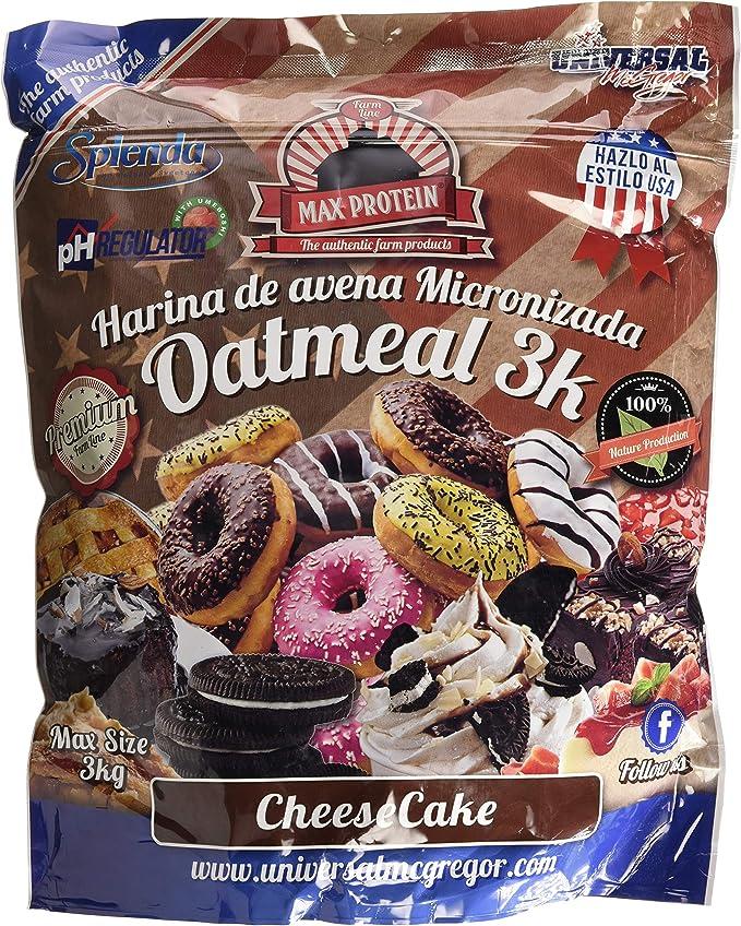Max Protein Oatmeal Sac Harina de Avena, Termo-Activada - 3000 gr ...