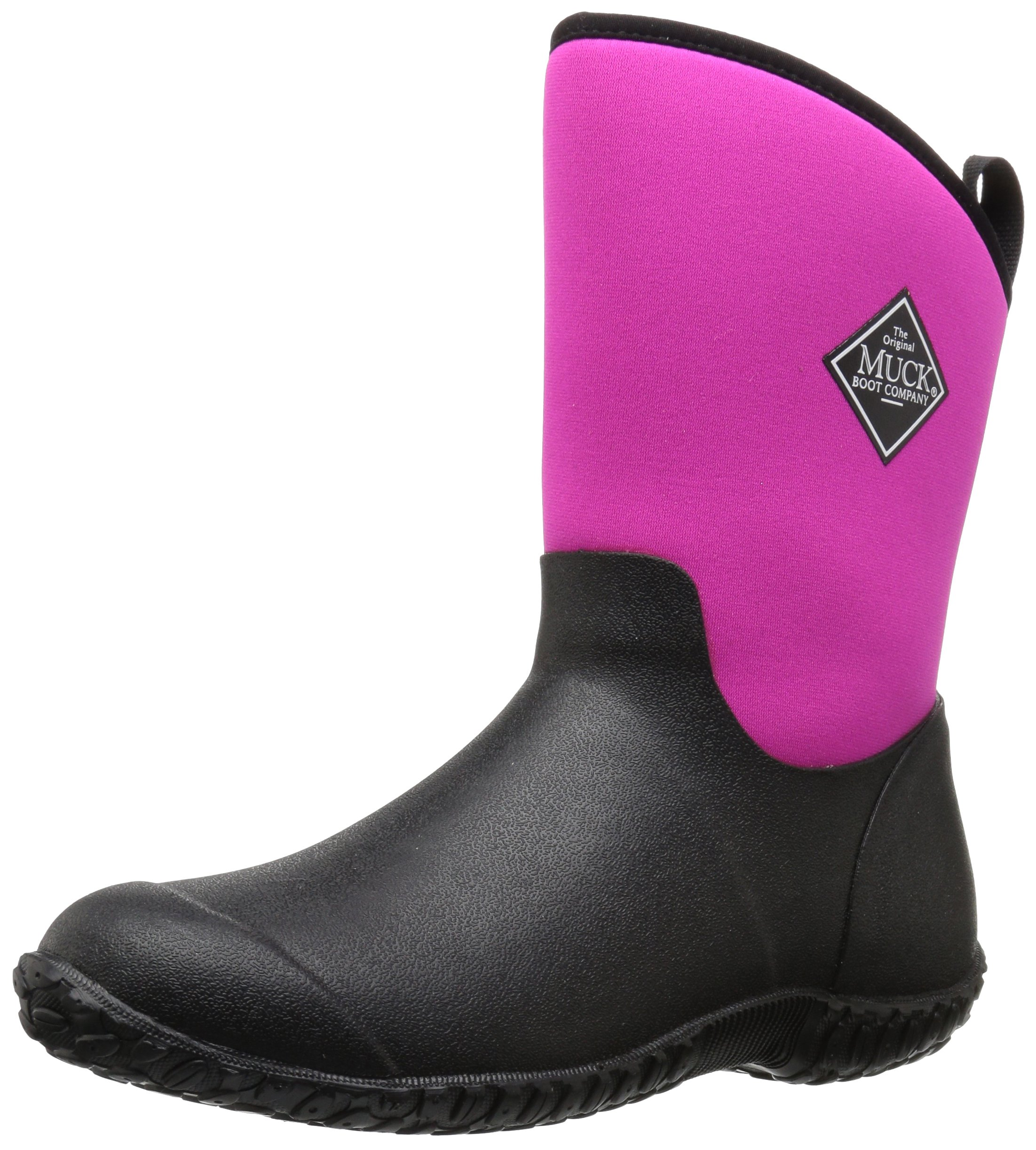 Muck Boot Women's Muckster 2 Mid Snow Boot, Black/Pink, 8 B US by Muck Boot