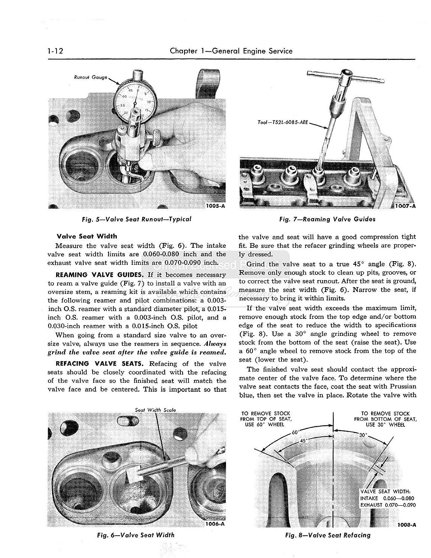 1957 Ford Fairlane T Bird Escort Shop Service Repair Wiring Diagram 1956 Sunliner Manual Book Engine Automotive