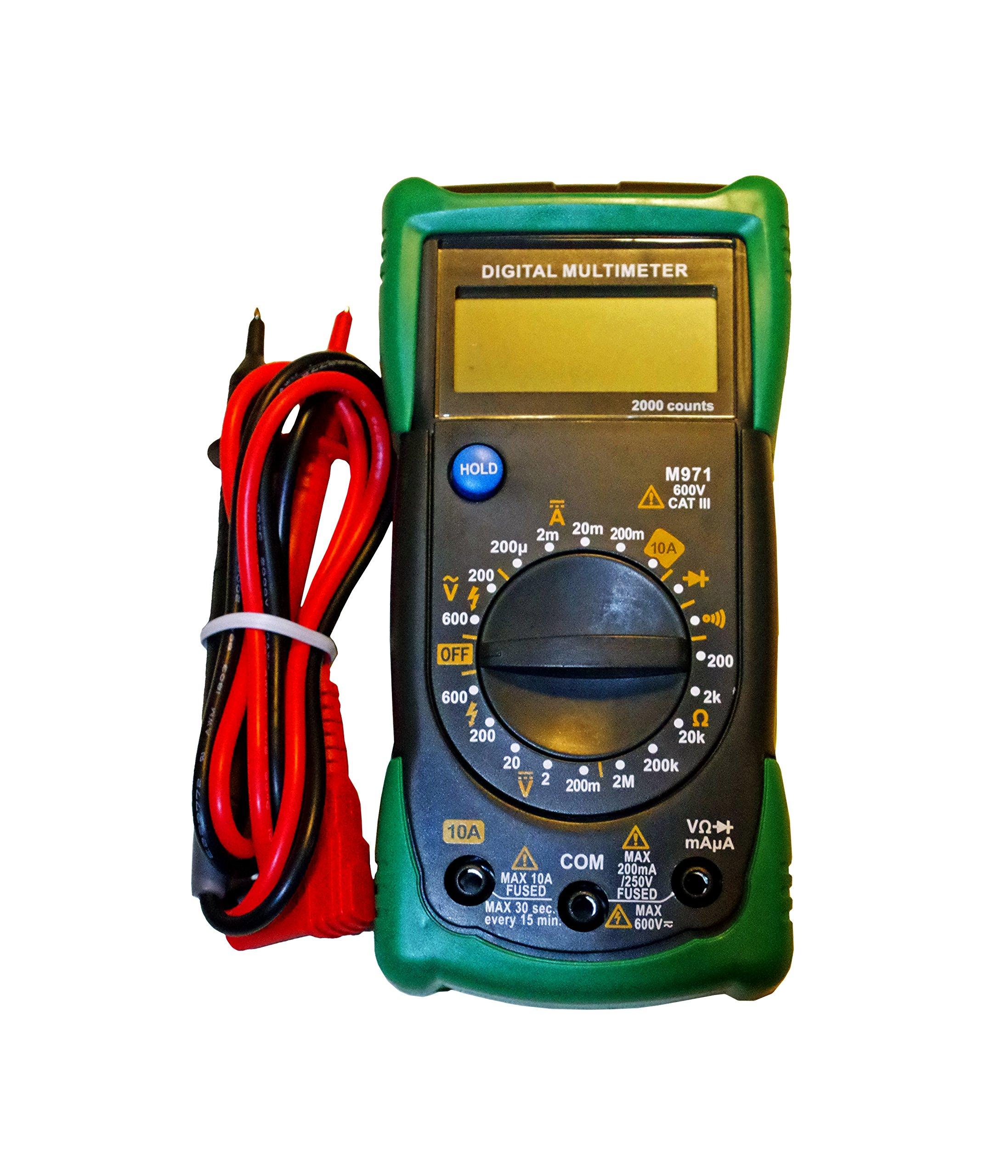 ELRO Multi/Amperemeter mit Automatischem Messbereich, M971 product image
