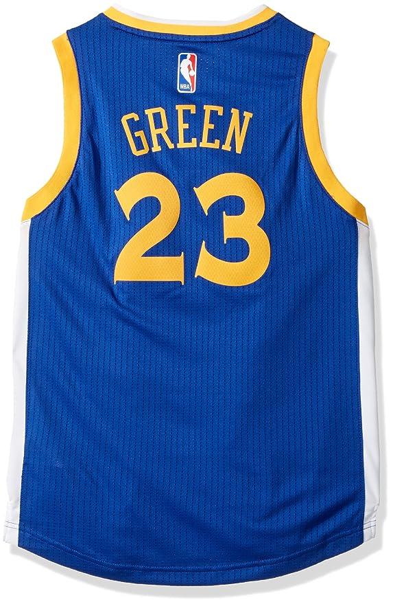 c75b60e6a57 Outerstuff NBA Golden State Warriors Draymond Green Boys Player Swingman  Road Jersey